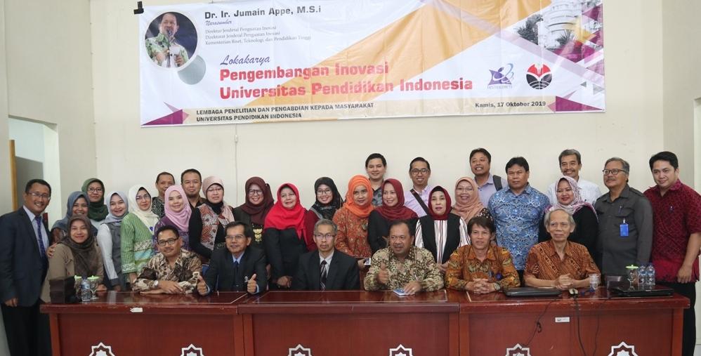 Lokakarya Pengembangan Inovasi Universitas Pendidikan Indonesia